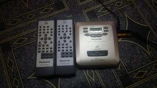 Panasonic Portable Video CD Player
