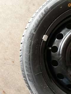 Bridgestone spare tires