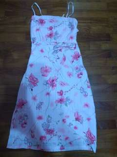 Floral sweet pinky Dress