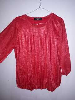 Blouse simplicity red