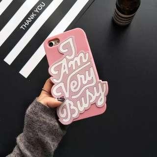 iPhone 7/8plus Pink Case