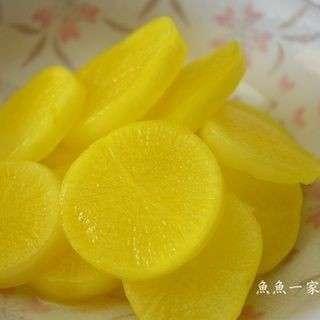 Japanese radish Daikon 日式醃黃蘿蔔