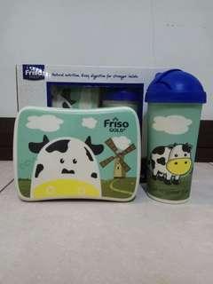 Bamboo Fiber Kids' Lunch Box Set