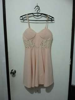 Chicabooti Satin and Lace Dress