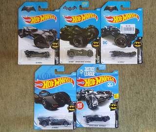 Batman batmobiles