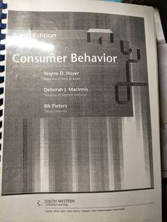 NTU consumer Psychology Textbook HP3806