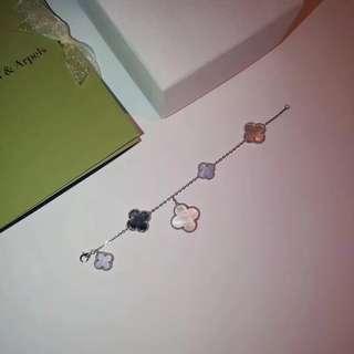Vca multi color mother of pearl bracelet