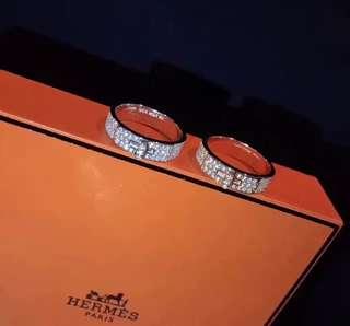 H full diamond ring