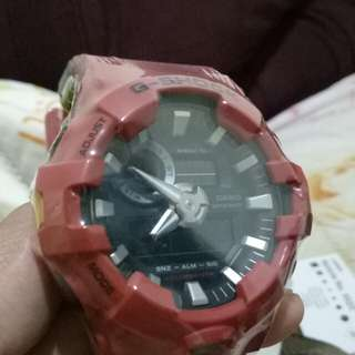 Red Casio G-Shock GA700