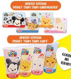 Disney Tsum Tsum Card Holders And Cups
