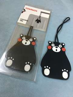 🈹Kumamon Luggage Tag 熊本熊行季牌