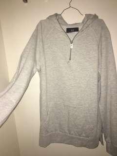 quarter zip hoodie