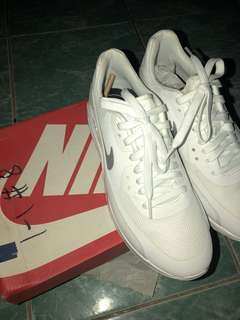 Nike white airmax 90 ultra 2.0
