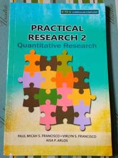 Practical Research 2 - K12 Senior High School Book Grade 11 & 12