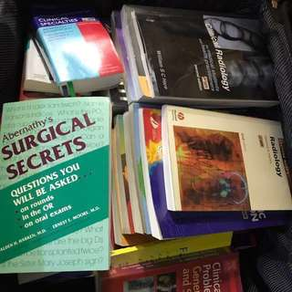 Lots of medical books for sale