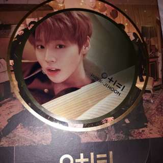 [WTS] Wanna One Park Jihoon mirror card