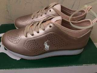 Original Ralph Lauren Polo Shoes RoseGold