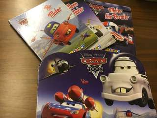 Disney cars set of 3 with box