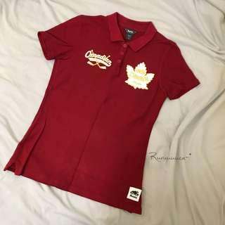 🍁Roots 絕版150週年加拿大國旗紀念款Polo衫