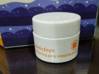 Innisfree Whitening Pore Sleeping Pack 20ml