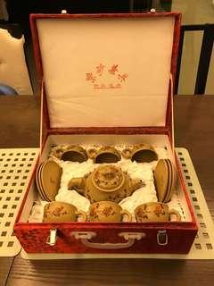 Chinese Teapot Set Yixing Zisha