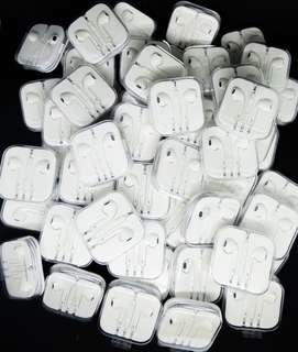 "Apple earpods with serial code and cable marks ""Lowest price in town"" Order now!"