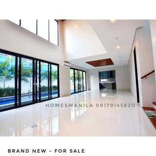 BRAND NEW MODERN ALABANG HILLS HOUSE AND LOT FOR SALE