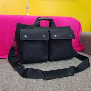 Yoshida & Co. Porter Duffle Bag Travel Hand carry Bag Black