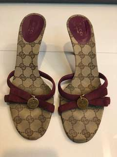 🚚 Gucci 2手高跟鞋 39號(不含任何配件噢! 如鞋套鞋盒)