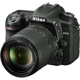 Nikon D7500 DSLR Camera with 18-140mm Lens Kredit tanpa kartu kredit