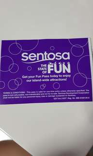 Sentosa unlimited 3days entry