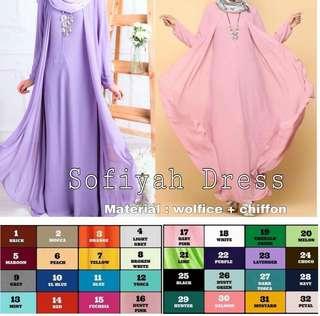 Muslimah Long Dress & Jubah