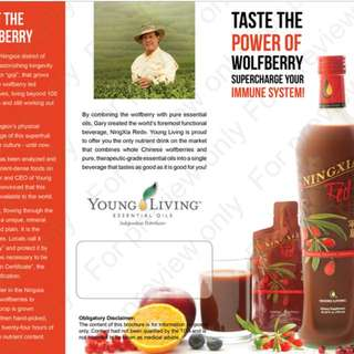 Young Living Ning xia Red Drink
