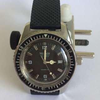 Vintage 60/70's Monvis Automatic Divers Watch