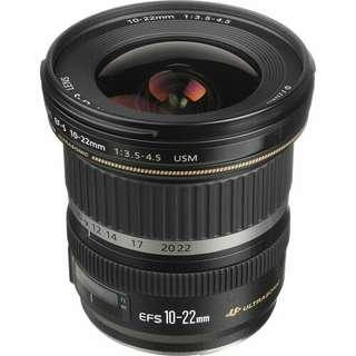 Canon EF-S 10-22mm f3.5-4.5 USM Kredit proses mudah tanpa kartu kredit