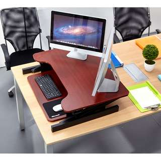 ✔️(*Readyship*)Ergonomic Standing Desk/Height-adjustableDesk