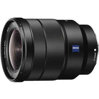 Sony FE 16-35mm f4 ZA OSS Lens Vario-Tessar T Kredit tanpa CC