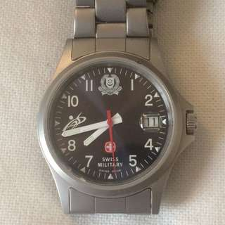 Swiss Military Singapore Police Force Quartz Watch