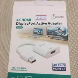 Unused HDMI To Display Port