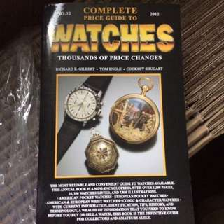 2012 Complete Price Guide to Watches Book