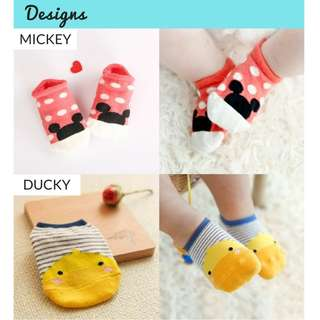 Baby Socks (Anti-Slip Sole)