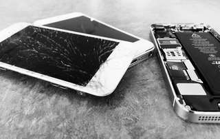 IPhone repair , iPhone lcd , iPhone cracked screen