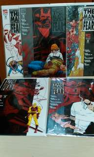 DareDevil 5 issues set Man Without Fear.