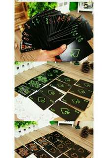 Luminous Playing Cards
