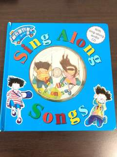 Sing along English songs with audio cd (10 songs)