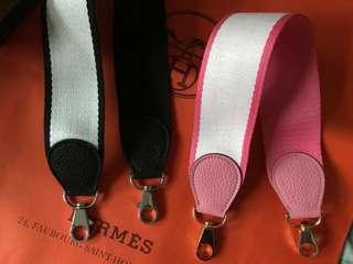 名牌袋專用肩背配帶strap for Hermes fendi celine