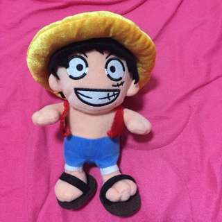 •used• One Piece Luffy Stuff Toy
