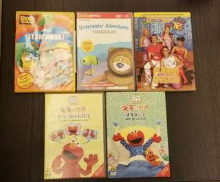 Elmo's World, Hi5, Bob the Builder DVD