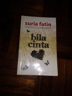 Preloved Novel Bila Cinta