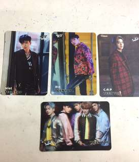 Teen Top yescard